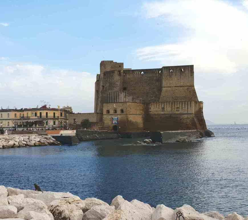 Visitare Napoli Castel dell'Ovo