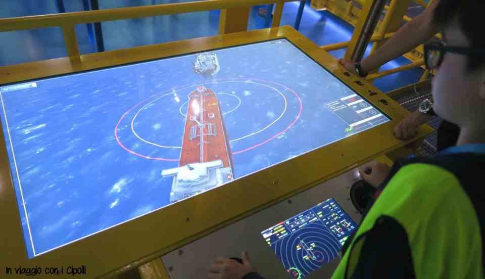 Esercitazione piattaforma offshore