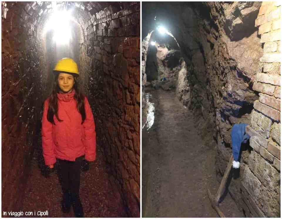 visitare le miniere con i bambini