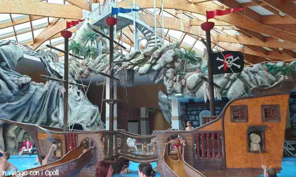 nave pirati parco acquatico catez slovenia