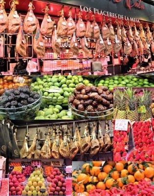 Viaggio a Valencia, colori, sapori e odori del Mercado Central (Spagna)
