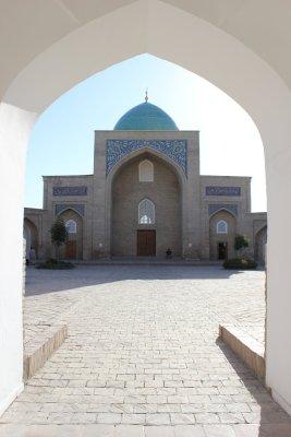 Viaggio in Uzbekistan, complesso religioso di Khast Imom a Tashkent
