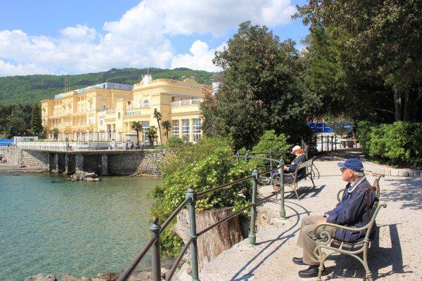 Hotel Kvarner (Opatija, Croazia)