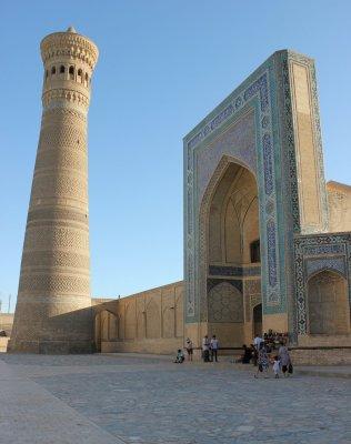 Viaggio in Uzbekistan, Minareto Kalon a Bukhara (Uzbekistan)