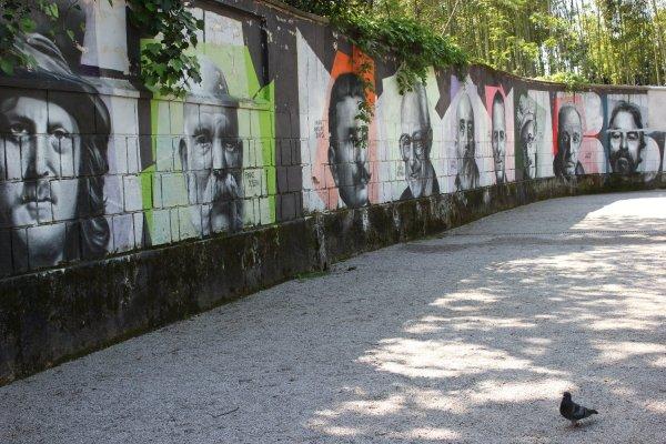 Murales a Opatija (Croazia)