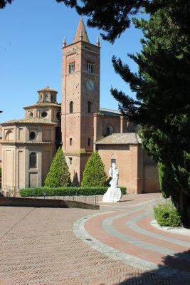 Viaggio in Toscana, Abbazia di Monte Oliveto Maggiore (Italia)