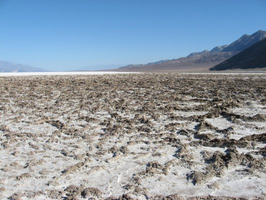 Tour dei Parchi, Badwater Basin, Death Valley (California, Stati Uniti)