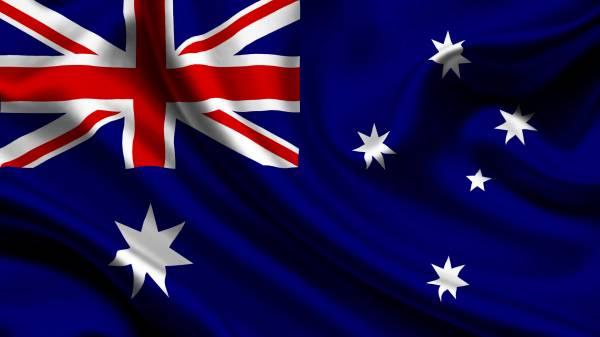 Viaggio in Australia, la bandiera Australiana