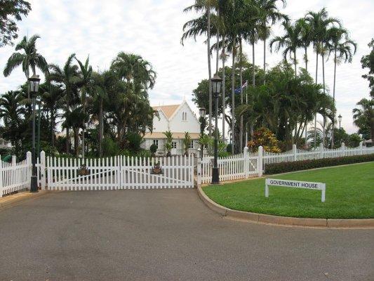 Viaggio in Australia, casa del Governatore a Darwin (Northern Territory)