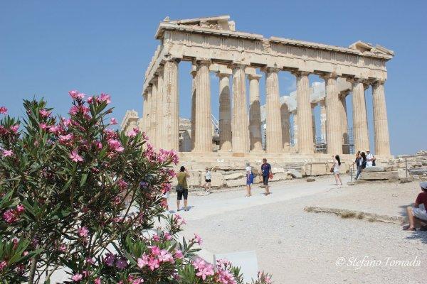 Viaggio ad Atene, il Partenone (Acropoli, Grecia)