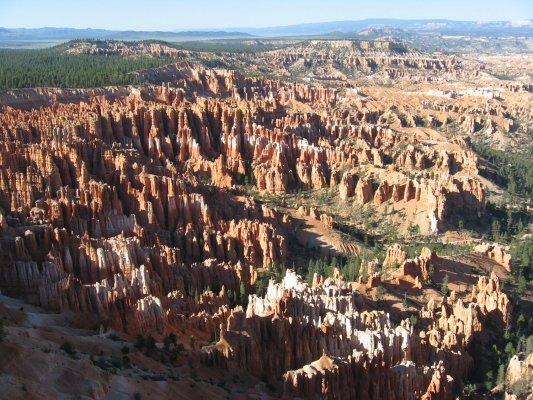 Tour dei Parchi, Inspiration Point nel Bryce Canyon (Utah, Stati Uniti)