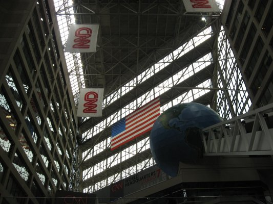 Viaggio ad Atlanta, interno del CNN Center (Atlanta, Stati Uniti)