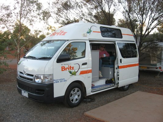 Viaggio in Australia, il camper, la nostra casa per dieci giorni (Northern Territory)