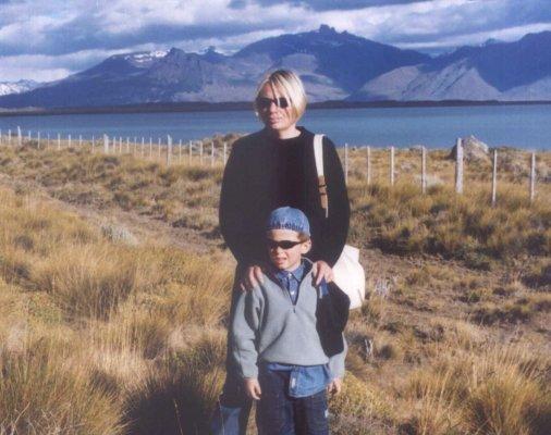 Viaggio in Patagonia, Lago Argentino nei pressi di El Calafate (Argentina)