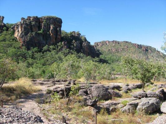 Viaggio in Australia, lookout di Gunwarddehwarde nel Kakadu National Park (Northern Territory)