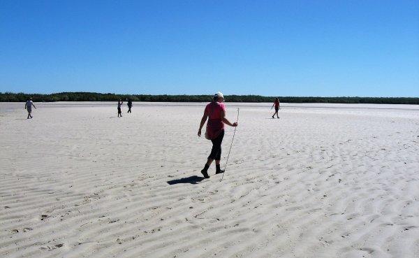 Viaggio in Australia, pesca dei granchi a Mudnunn (Western Australia, Australia)