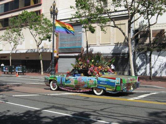 Viaggio a San Francisco, stravaganze per le strade (Stati Uniti)