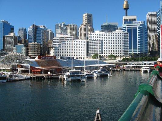 Viaggio a Sydney, il quartiere di Darling Harbour (Australia)