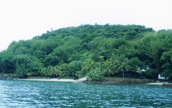 Viaggio in Brasile, isola di Itacuruçà