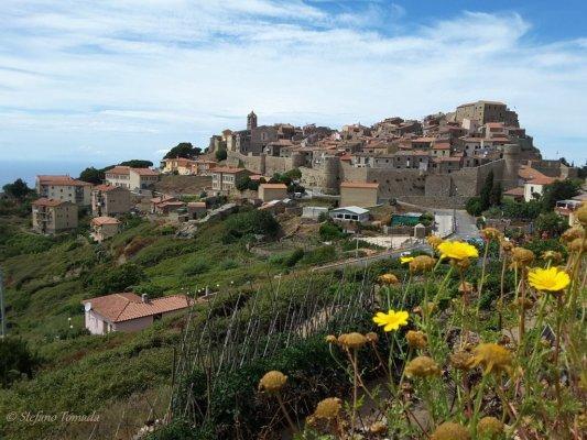 Viaggio in Toscana, panorama di Giglio Castello (Isola del Giglio)
