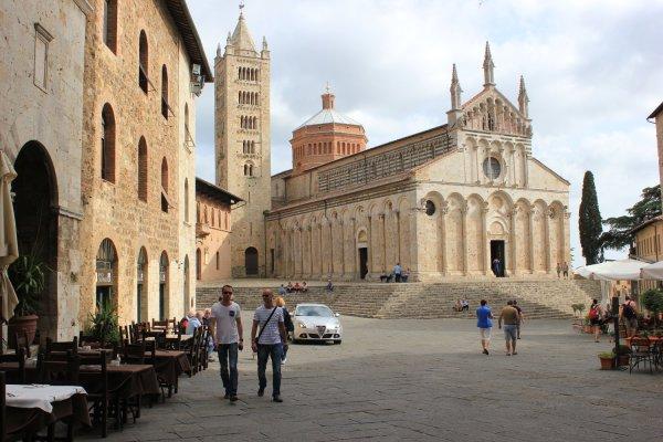 Viaggio in Toscana, il Duomo di Massa Marittima (Italia)