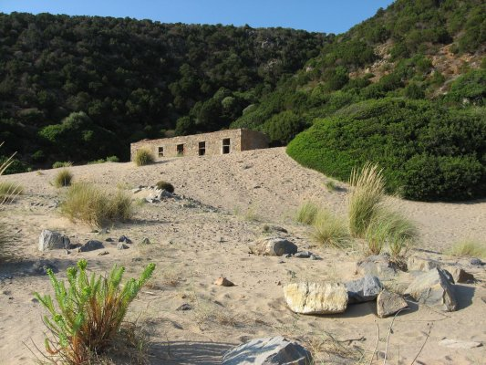 Viaggio in Sardegna, spiaggia di Cala Domestica (Italia)