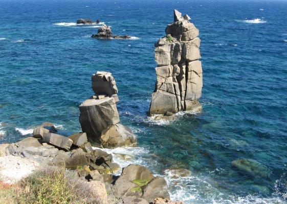Viaggio in Sardegna, Le Colonne di Carloforte (Isola di San Pietro, Italia)