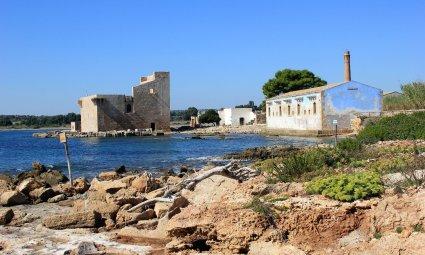 Viaggio in Sicilia, Torre Sveva e Centro Visitatori della Riserva di Vendicari