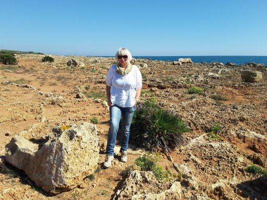 Viaggio in Sicilia, costa rocciosa all'interno della Riserva di Vendicari