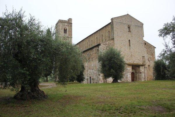 L'abbazia di Sant'Antimo in Toscana