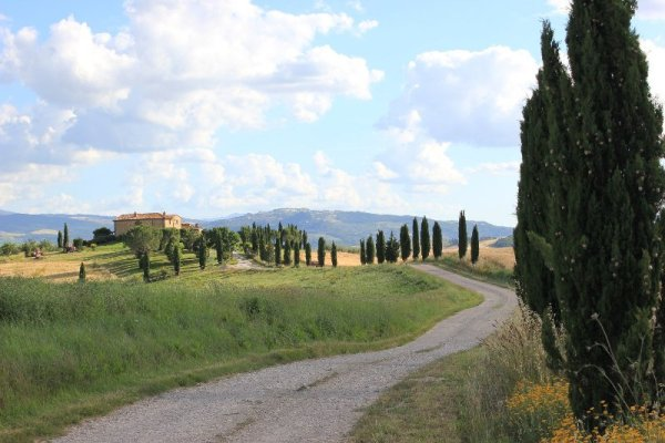 L'agriturismo Terrapille nei pressi di Pienza in Toscana