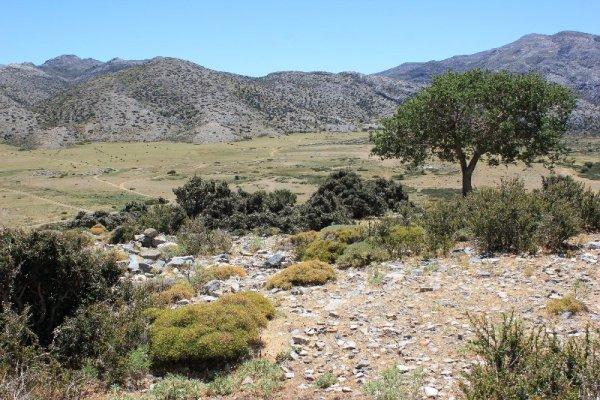 Panorama altopiano Nída Creta