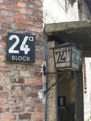 Auschwitz block 24