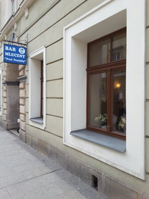 Ingresso bar mleczny Pod Temidą Cracovia