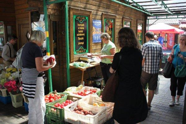 Bazar Plac na Stawach Cracovia