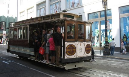 Cable Car linea Powell Hyde Sts San Francisco
