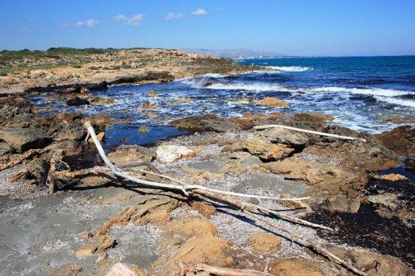 Caletta vicino spiaggia Calamosche Vendicari