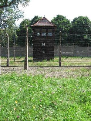 Auschwitz torretta guardia