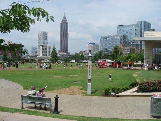 Panorama Centennial Olympic Park Atlanta