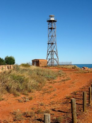 Il faro di Gatheaume Point a Broome in Australia