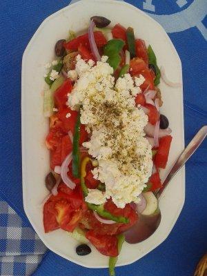 Piatto insalata greca