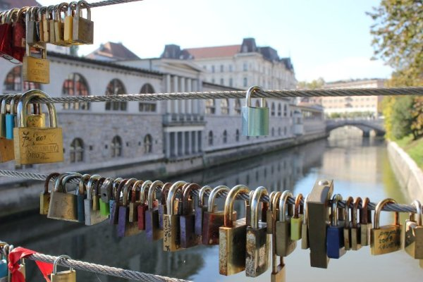 Il Ponte dei Macellai a Lubiana