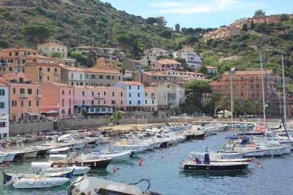 Panorama Giglio Porto Isola Giglio Toscana