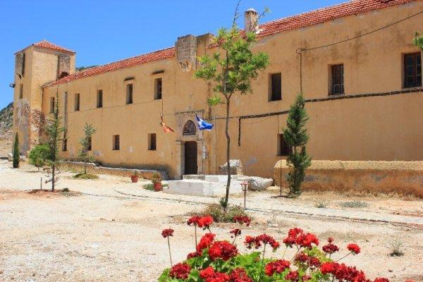 Monastero Gouvernétou penisola Akrotíri Creta