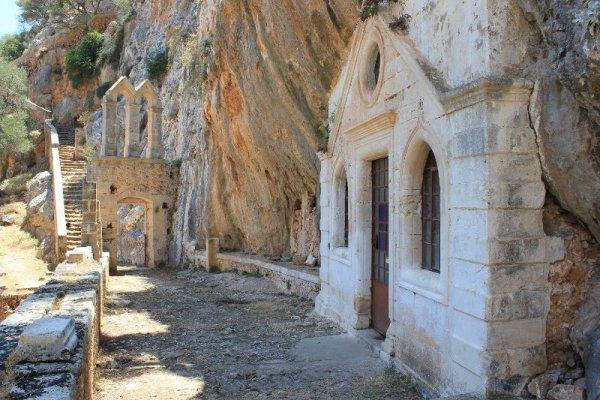 Monastero Ioánnou Eremíti penisola Akrotíri Creta