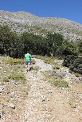 Sentiero monte Psilorítis Creta