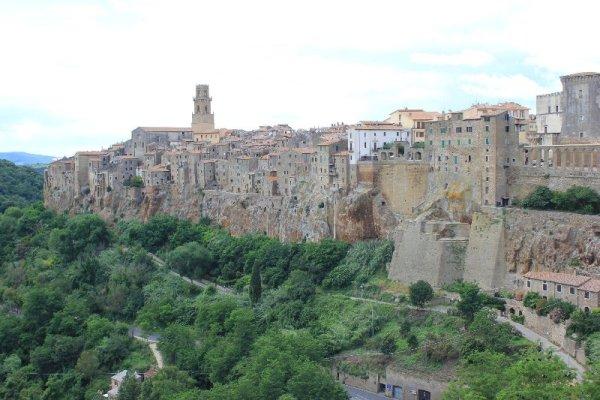 Panorama Pitigliano Toscana