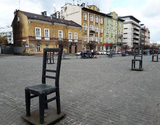Piazza Bohaterów Getta Cracovia