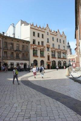 Plac Mariacki Kraków Cracovia