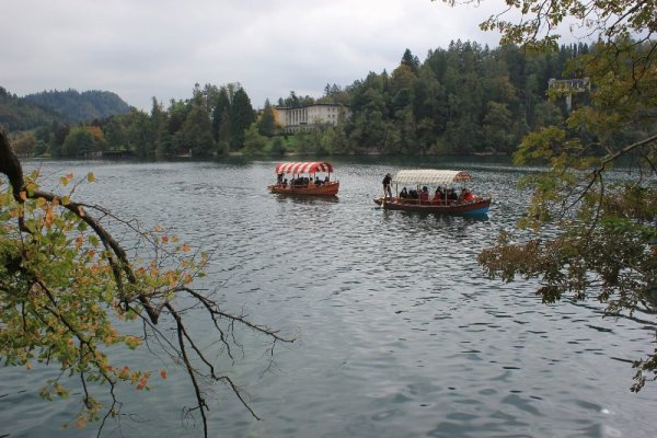 Pletna Bled Slovenia